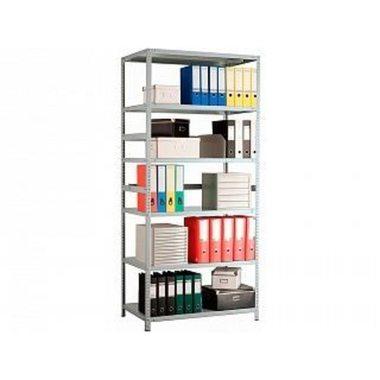 Стеллаж металлический MS Standart 220/100x30/6