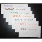 Бандероль кольцевая, ЕВРО (€), 500 шт/уп