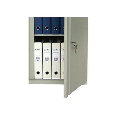 Металлический шкаф для офиса ПРАКТИК М 08