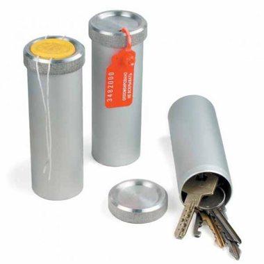 Пенал - Тубус для ключей, алюминий 90*60 мм