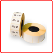 30*20(1800 шт) Термоэтикетка