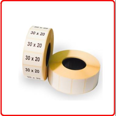 Термолента для этикеток 30*20(1800 шт)