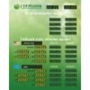 TEK -4 + 2ГК Внутреннее табло курсов валют