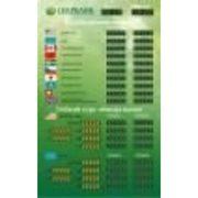 TEK-10 + 2ГК Внутреннее табло курсов валют