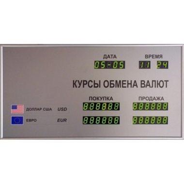 CERB-8 Внутреннее табло валют