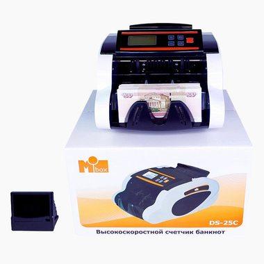 Счётчик банкнот Mbox DS 25